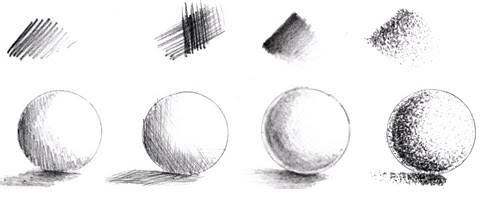 Pencil Shading Techniques Draw Central