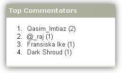 top-commentators-widget