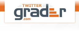 Grade your Twitter account using twitter.grader.com