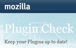 Mozilla Online Plugin Check