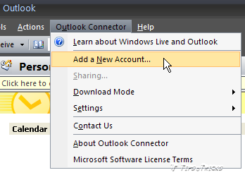 Microsoft outlook connector for Microsoft outlook 2003 and 2007