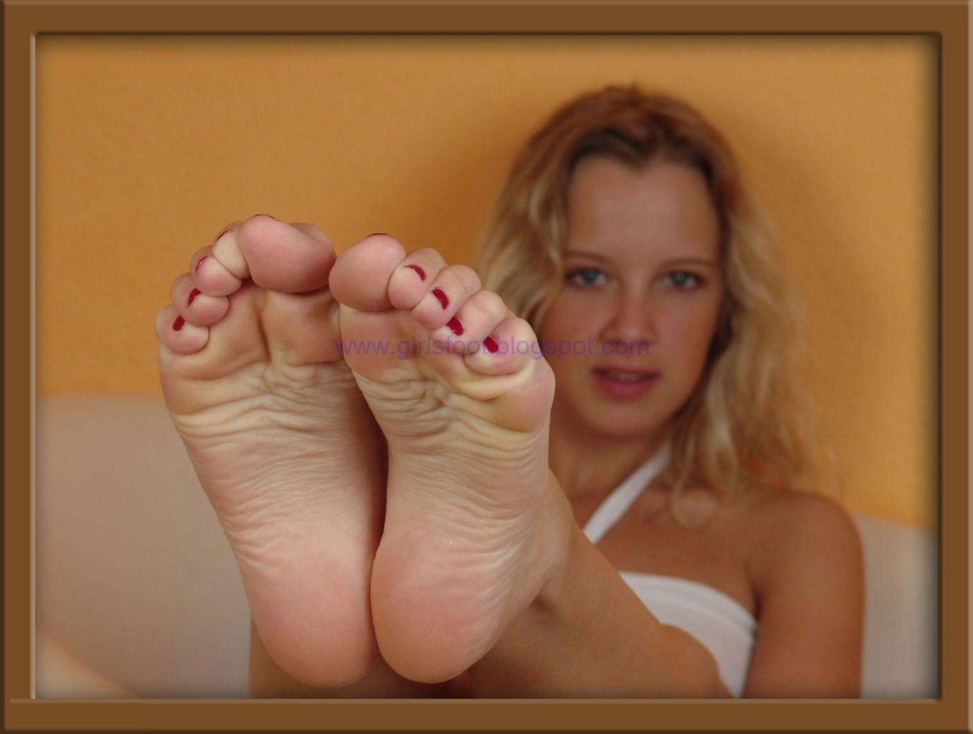 Footlover Footjob Beautiful Girl, Sexy Legs And Feet-1522