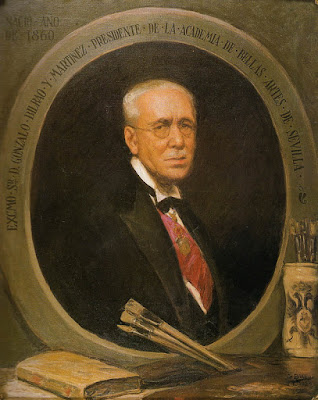 Gonzalo Bilbao Martínez, Maestros españoles del retrato, Pintor español, retratos de Gonzalo Bilbao Martínez, Pintores Sevillano