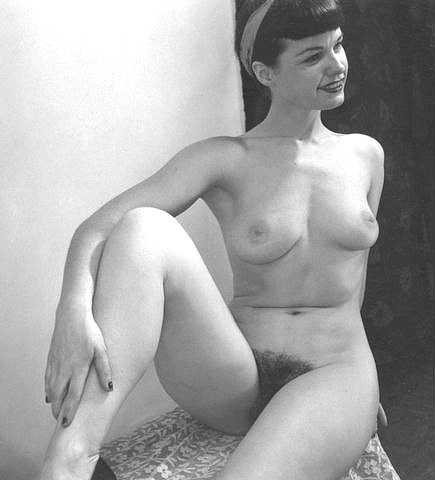 betty bettie page pussy