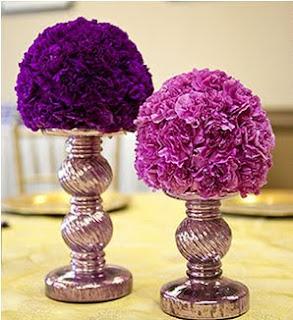 """""""مسابقة العرايس"""" purple+flower+center"""