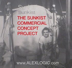 SUNKIST COMMERCIAL CONCEPT PROJECT