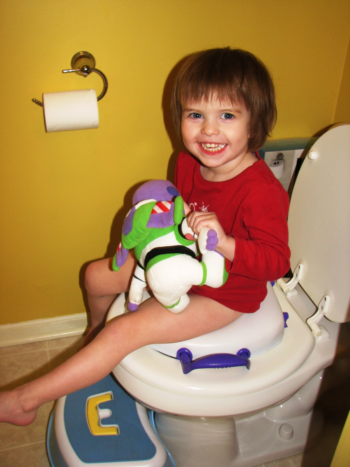 Burns Family Blog: Potty Time!