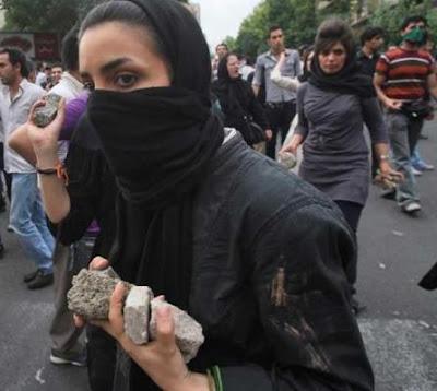 woman in iran