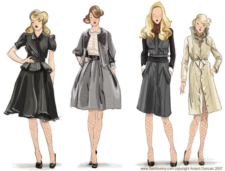 Laire: Fashion Illustration Inspiration