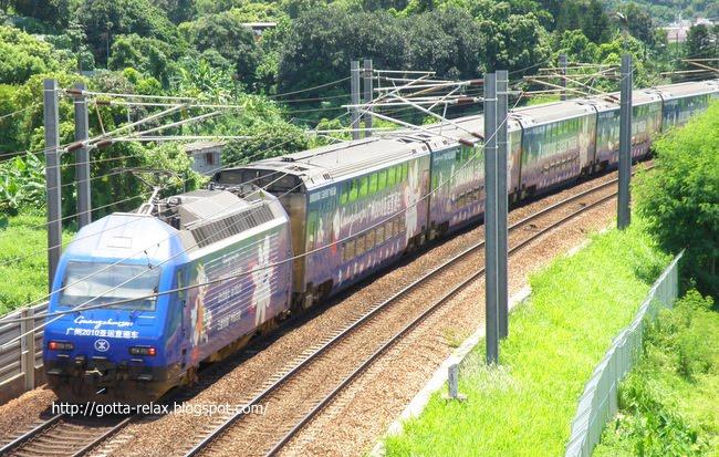 一齊relax下: 高鐵攻略1-香港點去廣州南