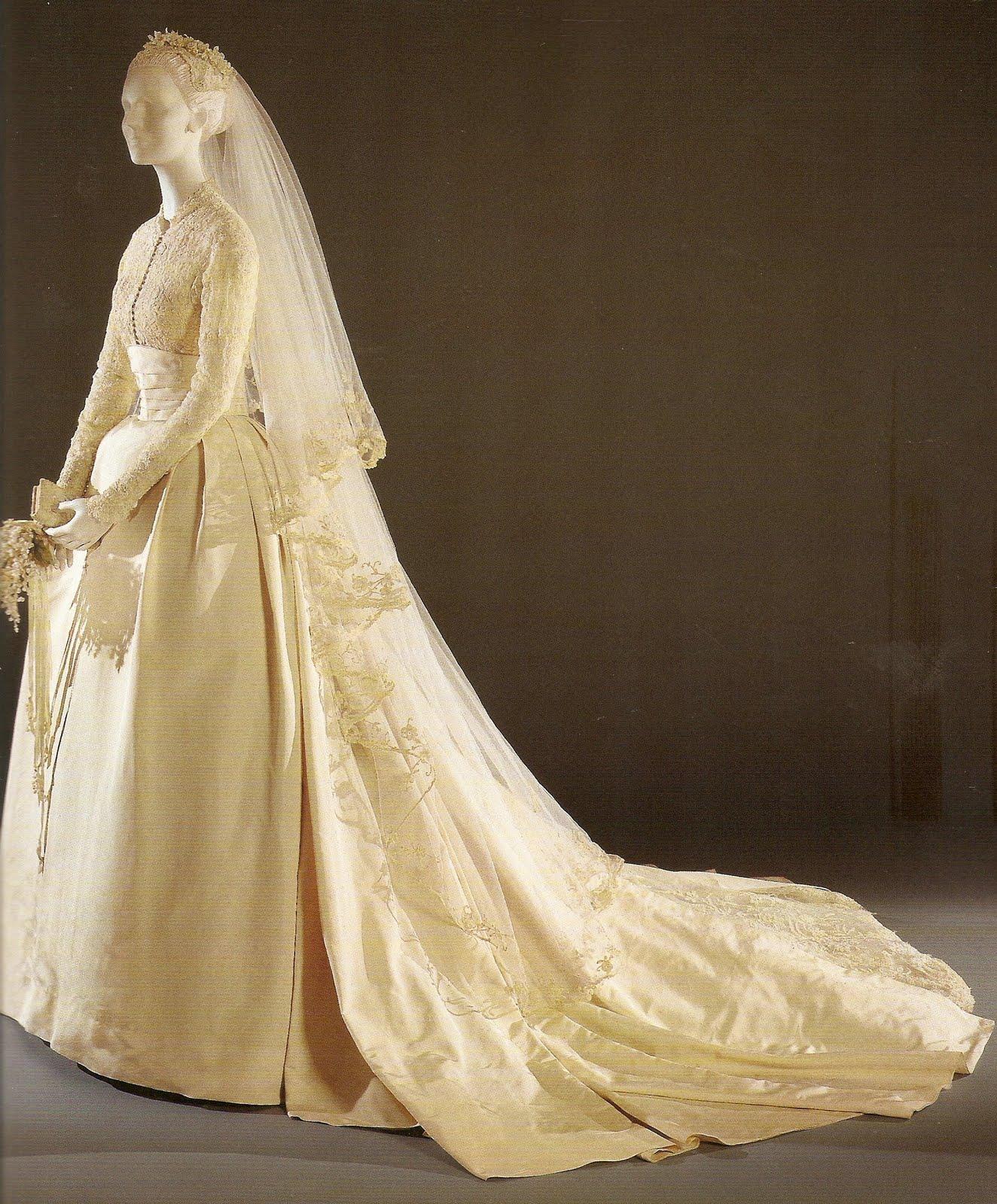 1880s wedding dress
