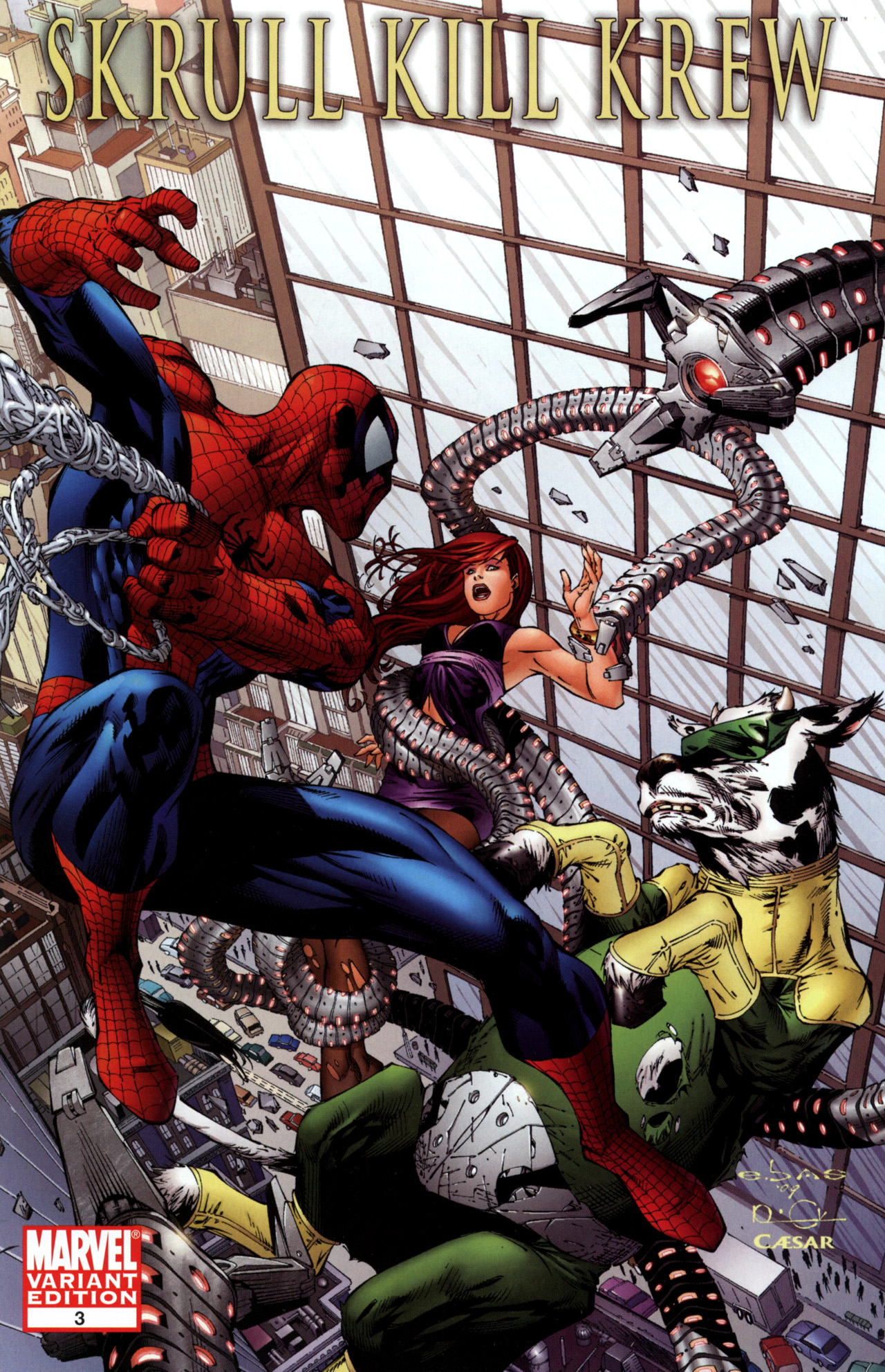 Read online Skrull Kill Krew (2009) comic -  Issue #3 - 2
