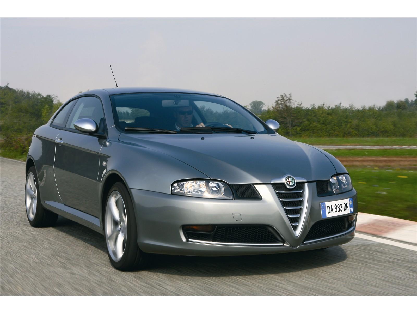 Sport Car Alfa Romeo Gt Q2 2007