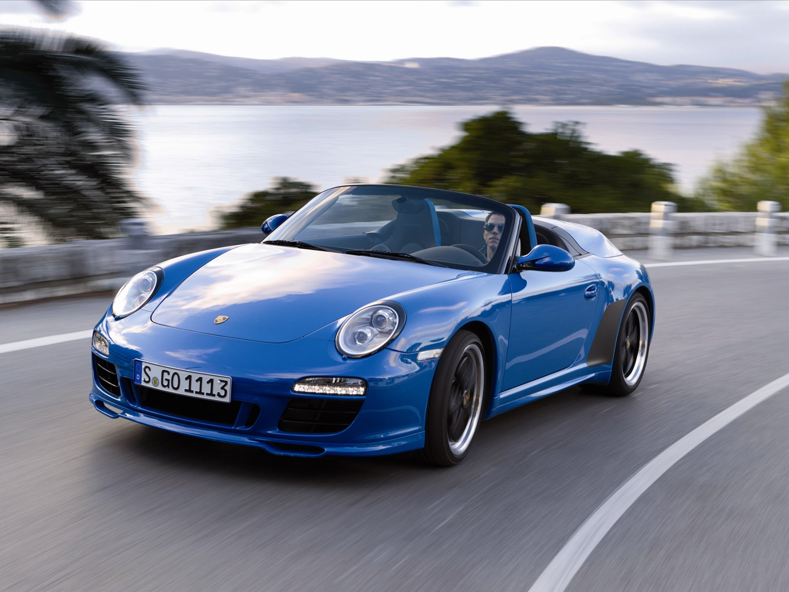 Sport Car Porsche 911 Speedster 2011
