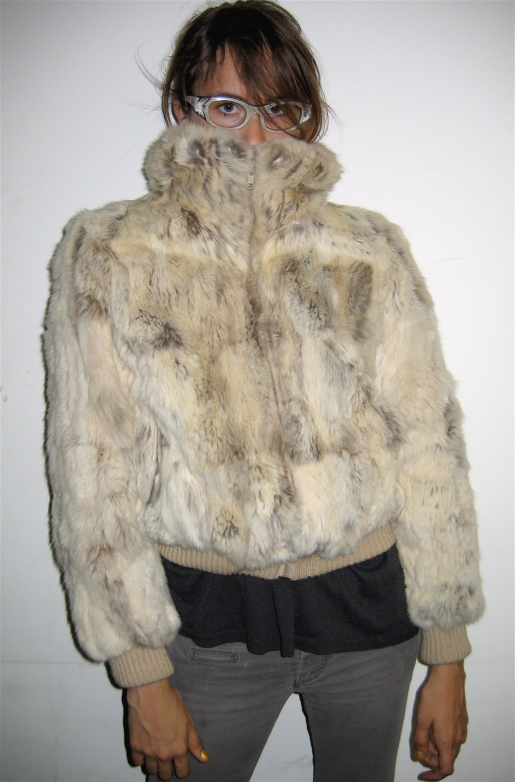 Opinion rabbit fur coat vintage think, that