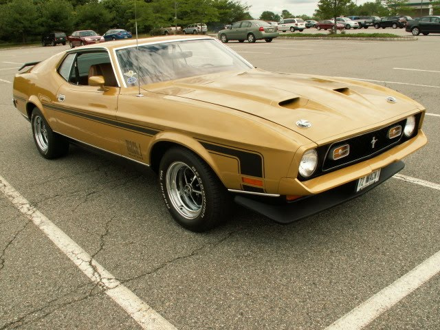 Ford Mustang Info 1972 Ford Mustang Mach 1