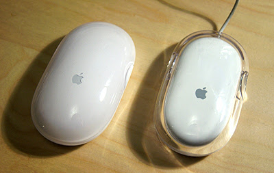Apple's mouse design through the years