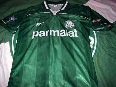 Maglia Verde  Camisas da campanha Libertadores 99 6ab54f2d207b4