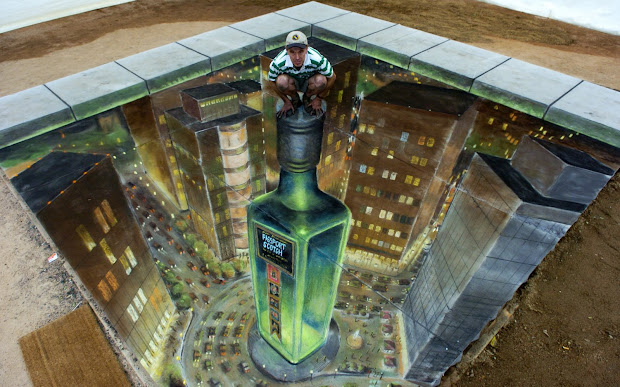Graphical Street Art Julian Beever Part 3