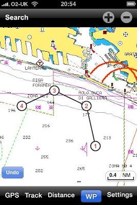 Captain JP's log: Quick review: Navionics iPhone Charts V2
