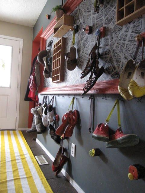 Luckybydesign Diy Shoe Wall