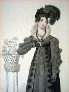 Regency Mourning Fashions in England