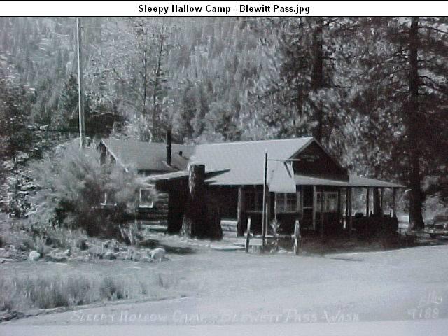 Old Blewett Pass Highway