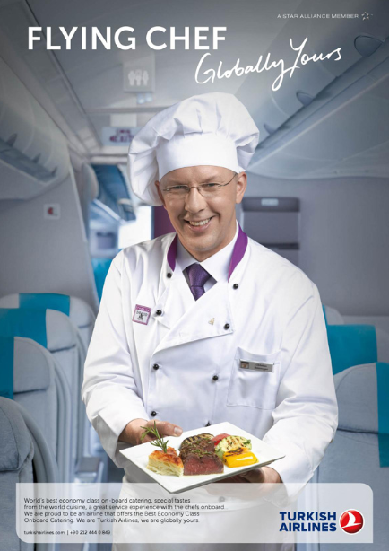 turkish airline flying chef 土耳其航空 空中主廚 travel plane flight