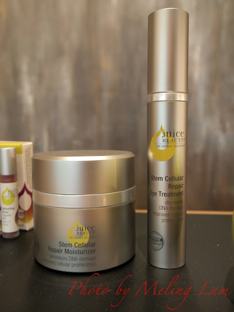 juice beauty organic skincare stem cell moisturizer eye cream 有機護膚 幹細胞 瘦面 面霜 眼霜