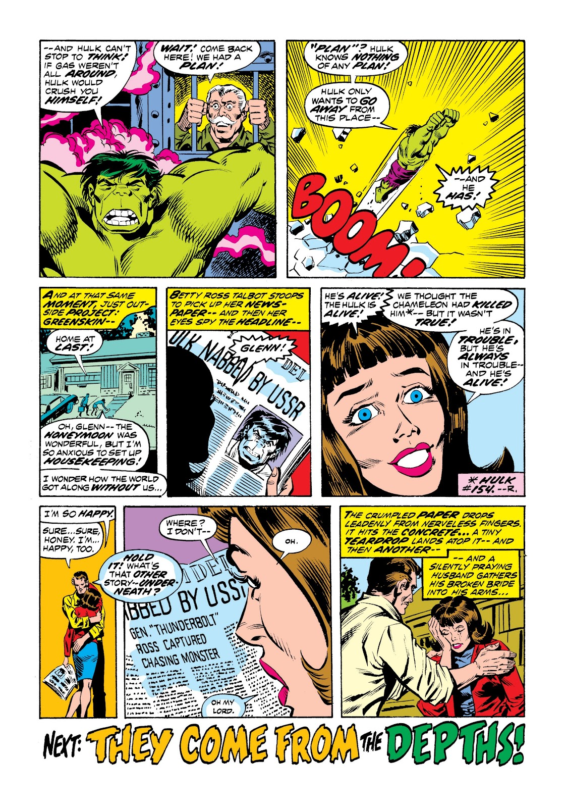 Read online Marvel Masterworks: The Incredible Hulk comic -  Issue # TPB 9 (Part 2) - 55