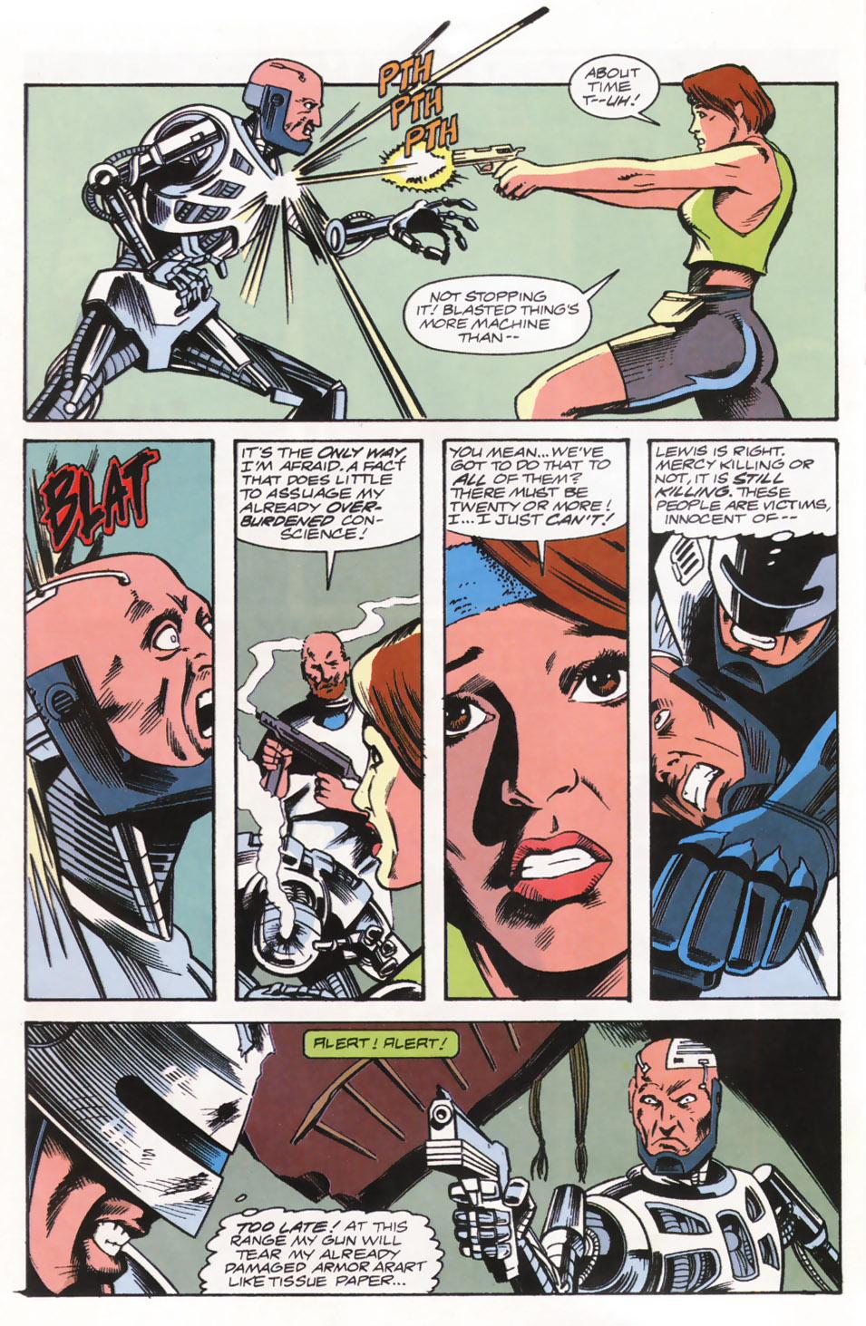 Read online Robocop (1990) comic -  Issue #15 - 19