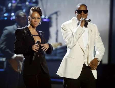 aliciakeysjayzamericanmusicawards ALICIA KEYS: Try Sleeping With A Broken Heart + Empire State Of Mind (With Jay Z) (Live at American Music Awards 2009)