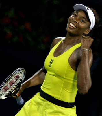 Black Tennis Pro's Venus Williams vs. Victoria Azarenka Dubai Final