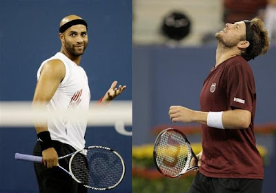 Black Tennis Pro's U.S. Open Blake vs. Fish