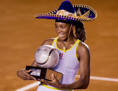 Black Tennis Pro's Venus Williams Abierto Mexicano Tecel Final