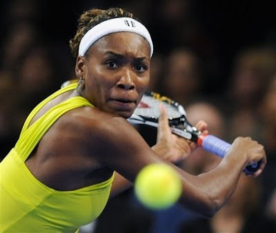 Black Tennis Pro's Venus Williams Billie Jean King Cup