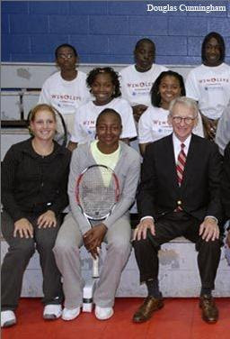 Black Tennis Pro's Shenay Perry Family Circle Cup