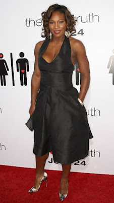 Black Tennis Pro's  Serena Williams The Ugly Truth Premiere