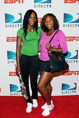 Black Tennis Pro's Venus and Serena Williams DirecTV ESPN U.S. Open Experience