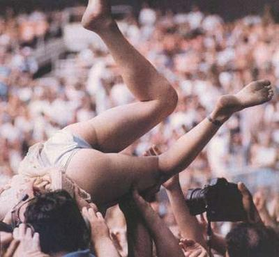 Excellent idea nude girl crowd surfing naked opinion
