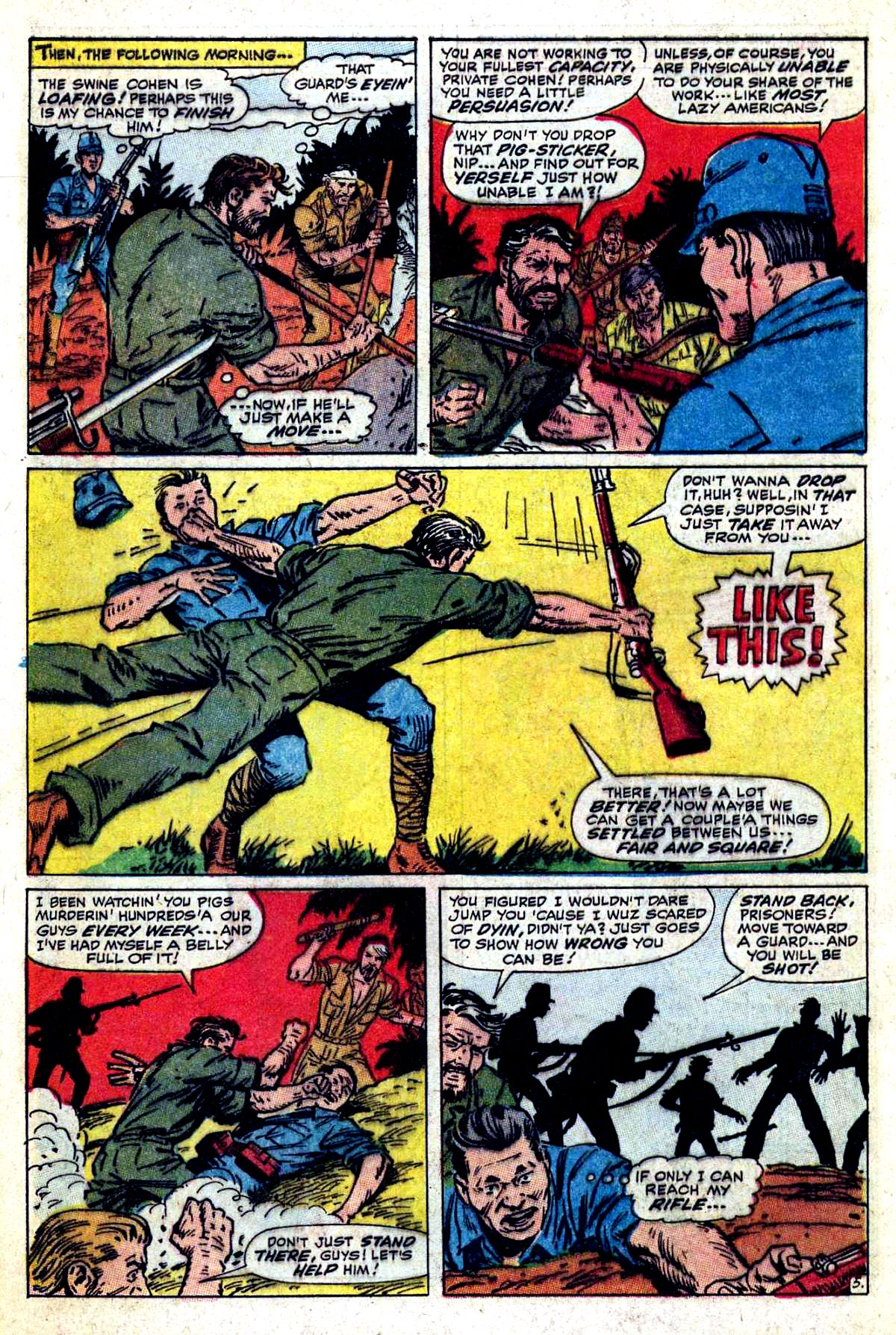 Read online Sgt. Fury comic -  Issue #54 - 8