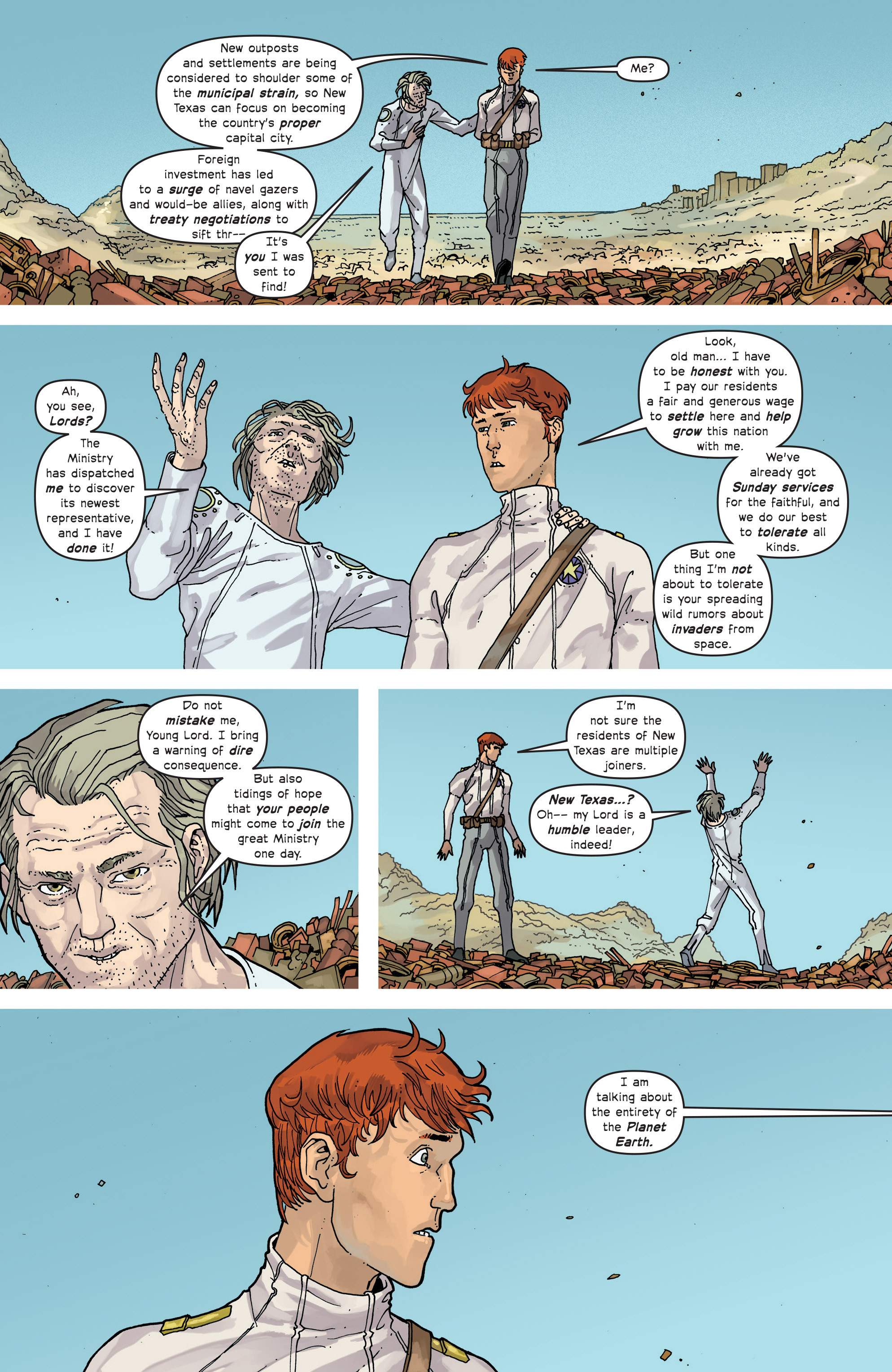 Read online Great Pacific comic -  Issue #13 - 12