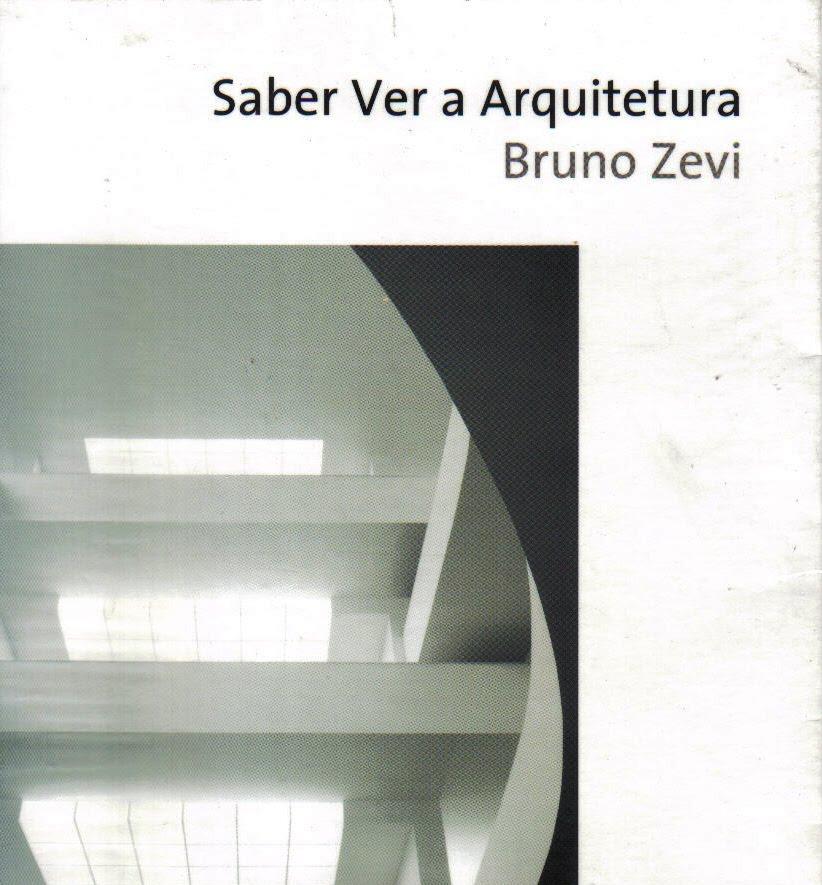 bruno zevi saber ver a arquitetura