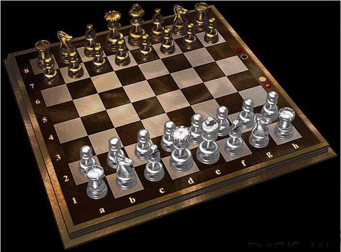 Black Cacao 53 Strange Chess Board Sets