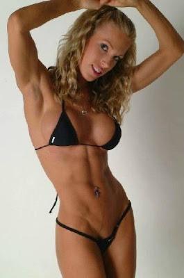 asian muscle girl