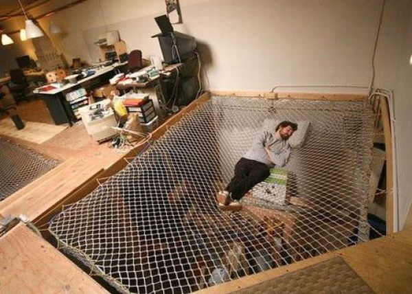 Unusual places to sleep in unusual beds: 40