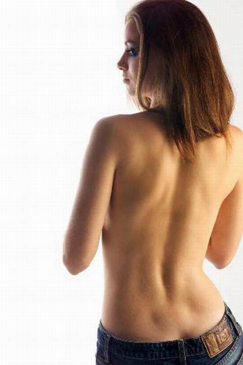 Amusing Pics backdimples  NSFW