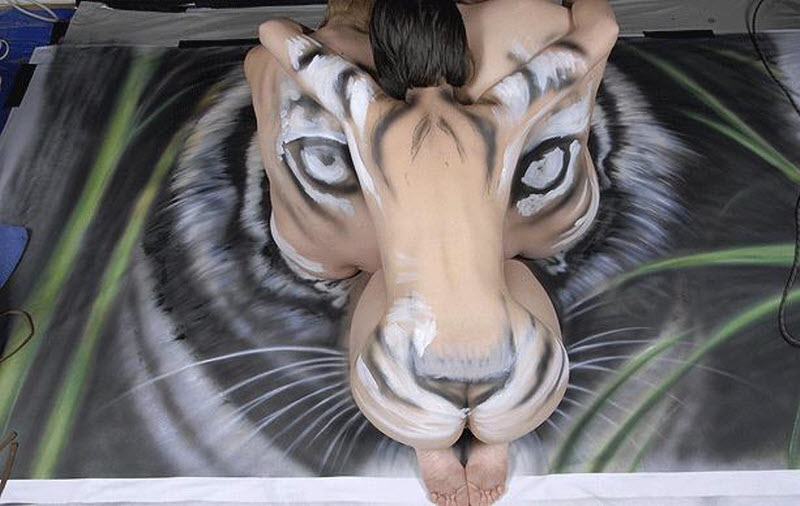 save-tiger--paint-art-05 Painting Unusual Home Designs on unique small house designs, unusual awards, unusual log homes, unusual painting, unusual art, unusual mountain homes, unusual food, unusual building, unusual bathroom, unusual real estate, unusual modular homes, whimsical house designs, unusual fashion, unusual kitchen, unusual flowers, unusual photography, unusual prefab homes, unique house plans and designs, unusual housing ideas,