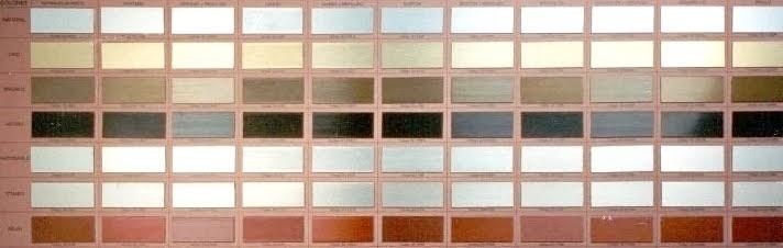 Muestrario De Colores De Pintura Sherwin Williams