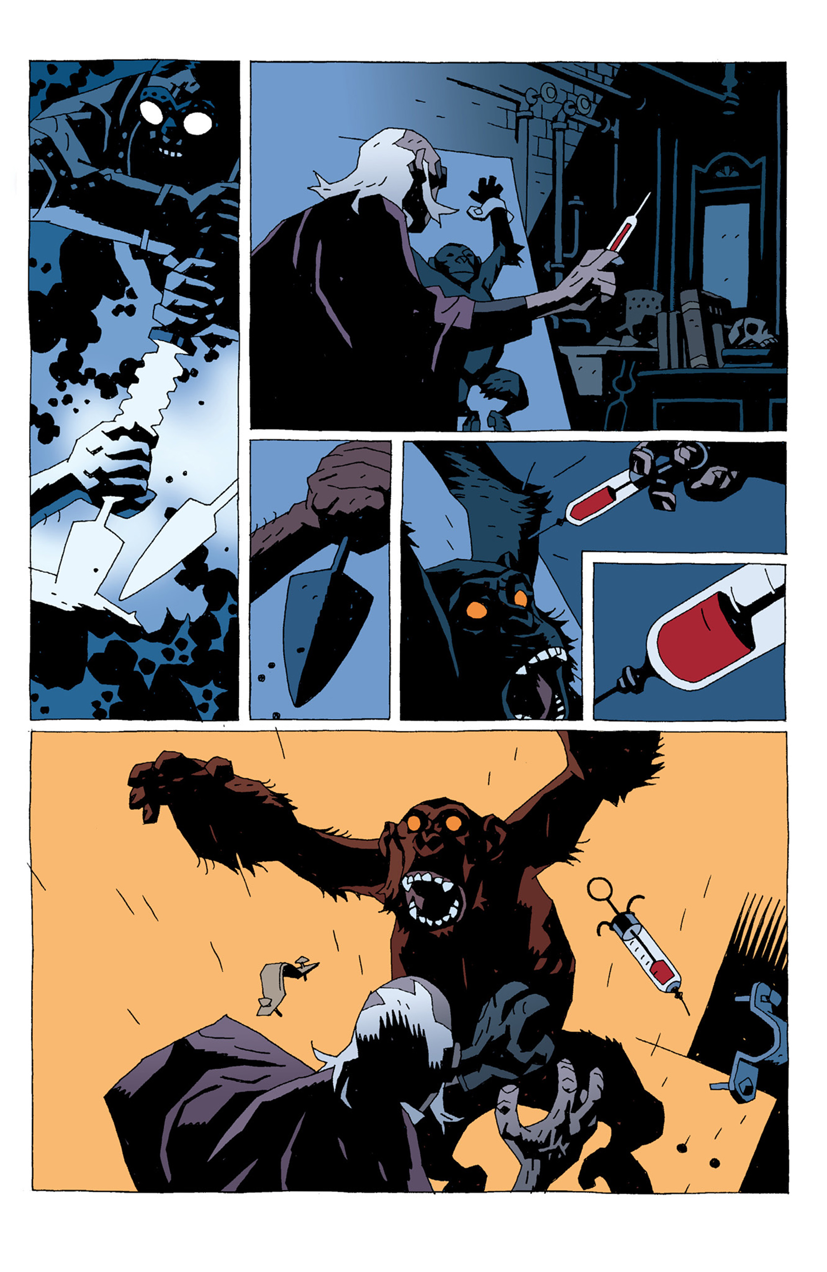Read online Hellboy: The Troll Witch and Others comic -  Issue # TPB - 63
